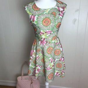 Ark & Co floral dress summer sleeveless dress. S